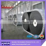 Abrasion rubber conveyor belts with magnetic separator belts