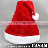 Wholesale golden velvet christmas hat
