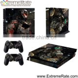 Factory wholesale hot game accessories vinyl skins for PS4 console controller skin sticker
