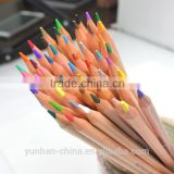 school color pencil water soluble crayon drawings
