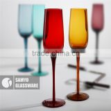 SAMYO wholesale table wine glass for wedding favour champagne flute