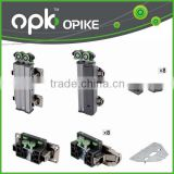 OPK Best Selling Accordion Doors Roller Folding Roller Door Sliding Door Wheels                                                                         Quality Choice
