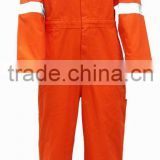trade assurance high quality wholesale with reflective tape cotton ployester workwear coverall