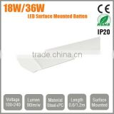 LED Batten Light 0.6mm 18W 1.2m 36W 1.5m 54W Surface Flush Mounted or Suspended