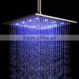24 inch Ceiling Mounted Waterfall Square Electric Top Rainfall Showers Head Rain Ceiling
