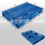 Steel reinforced plastic pallet made in china double face hdpe pallet                                                                                                         Supplier's Choice