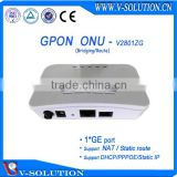 1GE GPON ONU GPON ONT FTTH Router Fiber Optic Node same functions as Huawei H8010/Fiberhome AN5506-01A/ZTE F601 ONT