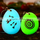 Best popular word stone glow in the dark pebble stone polished luminous stone for pendant necklace