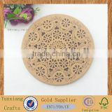 wooden cork coaster,wooden art placemats