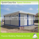 Temporary Rustproof Waterproof Two-storey Steel Frame Building