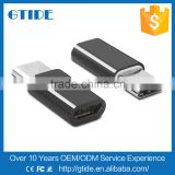Gtide Mini USB 3.1 Type C Male to Micro USB 2.0 5 Pin Female Data Charger Type-C Adapter Converter for New MacBook/Nokia N1