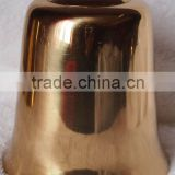 Dia4.7'' Polished brass ship/coat/door/temple/church bell A8-S07with many sizes (E196)