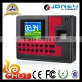Biometric fingerprint time attendance terminal with battery backup function and access control optional