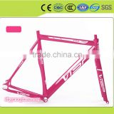 Bottom Bracket Road Bike Frame include high speed Derailleur and fork headset dropouts bolt seat clamp free ride