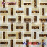Beautiful Glass Mix Stone Mosaic Tiles for Nightclub Wall Tiles/Hotel Project Hot Sale Mosaic Tiles Fancy Mosaic Tiles