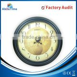 14inch plastic hot sale antique first time azan wall clock