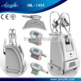 Body Slimming 4 Handles Cryolipolysis Machine Can Work Two Heads At The Same Time Loss Weight