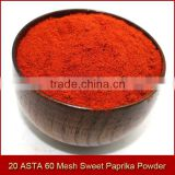 200 ASTA 60 Mesh Sweet Paprika Powder