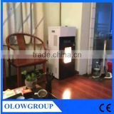 2016 China manufacturer home use classic Domestic automatic feeding smokeless wood pellet burning stove/oven