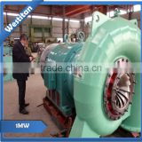 100kw up to 1MW water turbine hydroturbine hydraulic turbine hydropower station