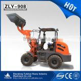 China multi-function mini agricultural farm and garden use tractor type front end loader ZLY908