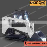 45HP to 75HP New EPA IV engine hydraulic wheeled tracked mini skid steer loader for sale