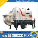 2017 New China Brand Shuoli Trailer-Mounted Concrete Pump HBTS110C-16-195R With Best Quality