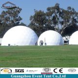 Luxury wedding marquee dome tent, dia 30m geodesic dome house sale