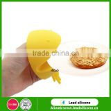 The big eat beans kitchen heat resistant silicone finger protector mitt / novelty silicon Oven Mitt