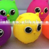 Animal owl toy for kids,owl TPR squishy ball