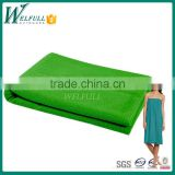 wholesale hot non slip microfiber yoga mat towel for body building (140*90cm)