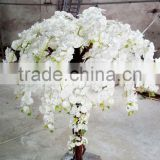 China factory make white fake orchid flower tree for interior decoration