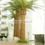 LZB081223 outdoor palm tree artificial decorative metal palm trees for sale