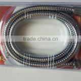 extension the length stainless steel double lock bathroom shower hose