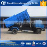 hot selling china cheapest 4x2 dongfeng bin lifter garbage truck 10 ton