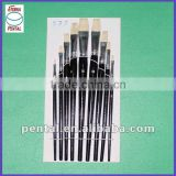 White Bristle Artist Paint Brush 577-9