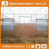 Heracles alibaba trade assurance electric motor wall mounted exhaust fan for agriculture greenhouse