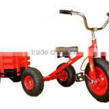 HOT sell new design children tricycle with wooden trailer,kid's toy,mini bike,