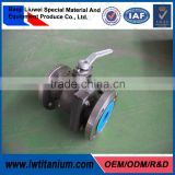 OEM Manual Titanio Ball Valve with Limit Switch