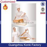 Fashion design custom working uniform, hotel and restaurant waiter uniform