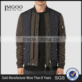 MGOO Custom Design Adult Mens Jackets And Blazers Quilted Padded Style Tops Zip Up Long Sleeves Tops