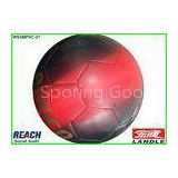 Leather Footballs Size 5 Red Official Soccer Balls 13cm - 22cm Diameter