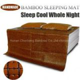 China Traditional Handmade Summer Cooling Bamboo Sleeping Mat for Bed