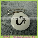 Custom printed label metal suspender clips