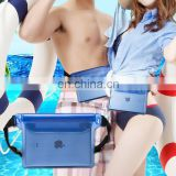 Transparent PVC mobile phone waterproof bag swimming outdoor water sports products Waist Brand
