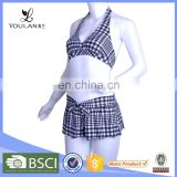 Latest Perfectly Undershirt Friendly Sexi Xxxl High Waist Girl Bikini Swimwear