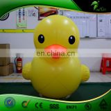Inflatable Rubber Duck Shape Balloon Custom Size Yellow Drake Replica for Promotion Decorate Water Ball Display