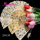 Vintage Battenburg Lace Hand Wedding Fan