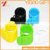 High Quality Colorful Custom Logo Silicone Bracelets USB3.0 Flash Drive 2gb For Gift