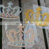 Crystal Car Sticker in Crown Shape